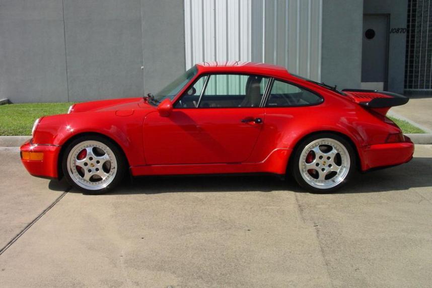 911 Turbo rood 1