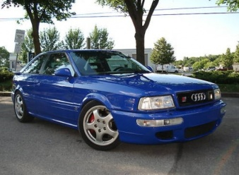 Audi Blauw RS2 Coupe